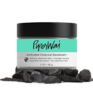 5/$25💜Piperwei Activated Charcoal Deodorant 2 oz.